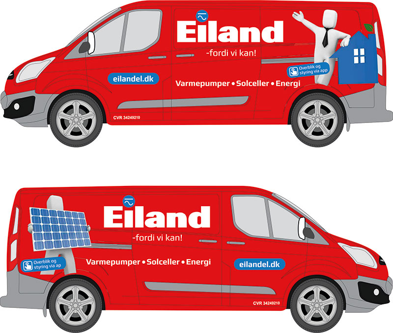 eiland auto udkast